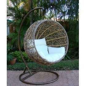 Wicker Swinging Chair